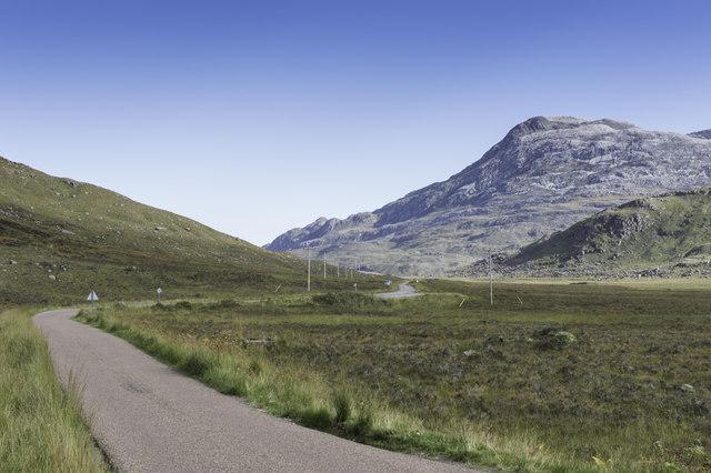 Road through Glen Torridon