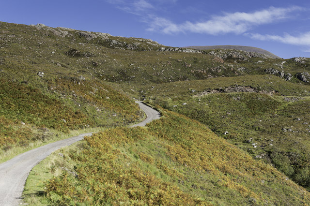 Western side of the Mad wee road to Diabaig