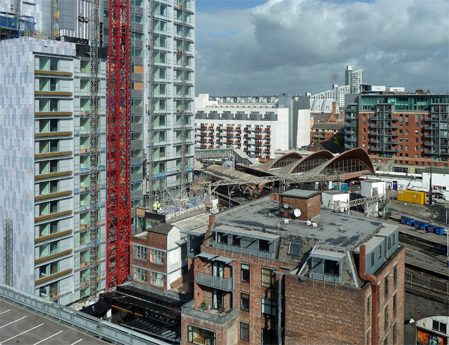 View from Hulme Street, Manchester (1)