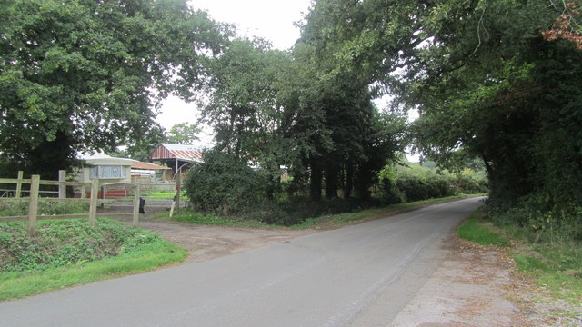 Entrance to Tatchbury farm