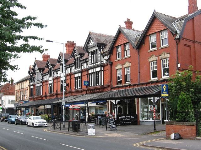 Heaton Moor - shops