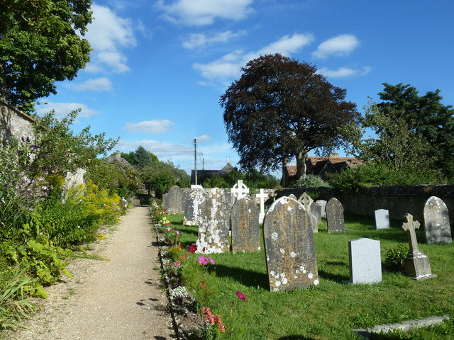St Mary Magdalene, Loders: church path (II)