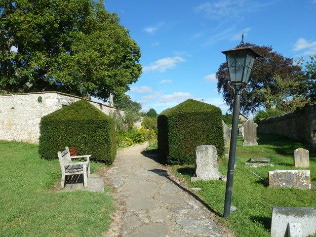 St Mary Magdalene, Loders: churchyard (vii)