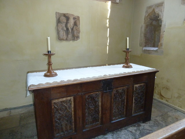St Mary Magdalene, Loders: altar