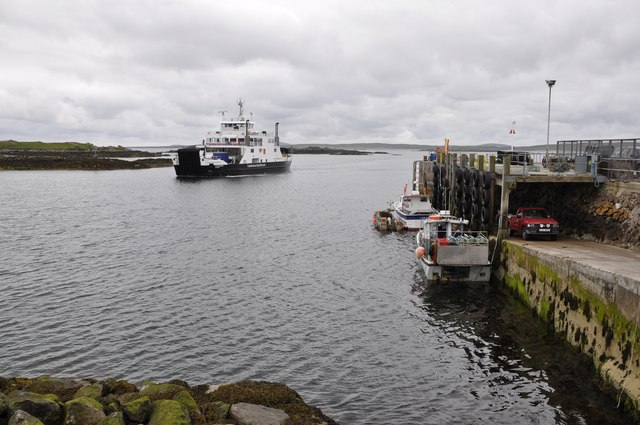 Calmac Ferry, Leverburgh