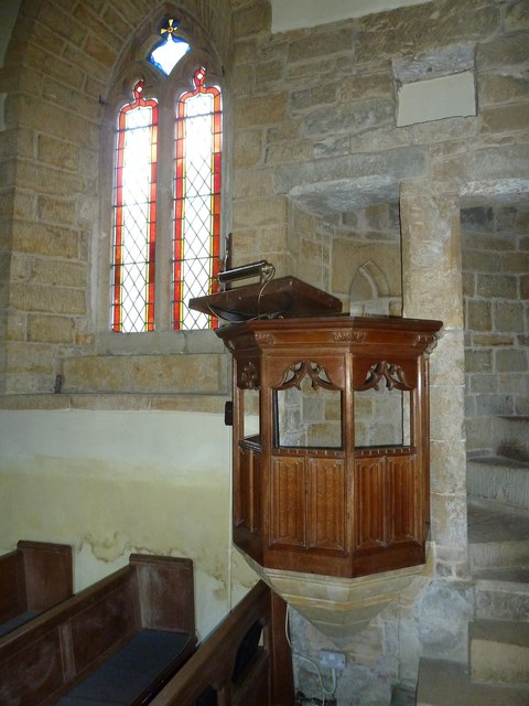 St Mary Magdalene, Loders: pulpit
