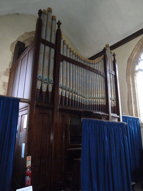St Mary Magdalene, Loders: organ