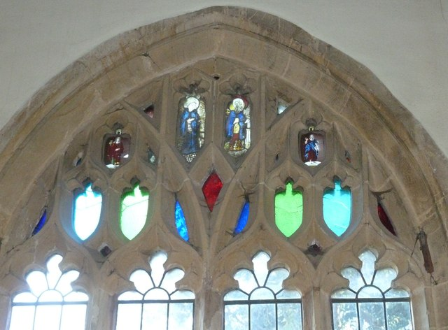 St Mary Magdalene, Loders: stained glass window  (A)