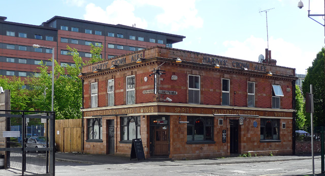The Salutation, Higher Chatham Street  Manchester