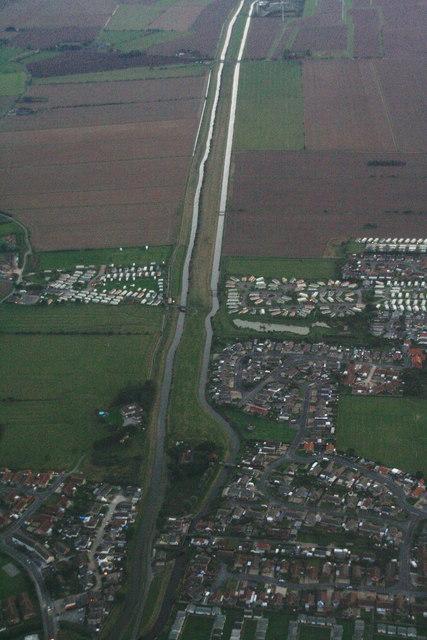 Trusthorpe: aerial 2013