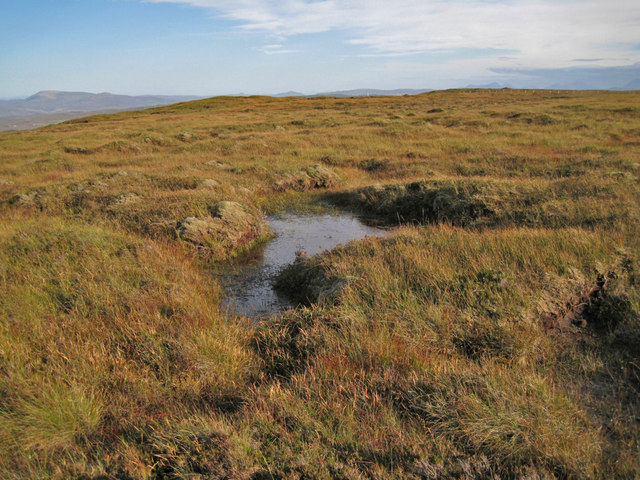 Boggy area on the moor