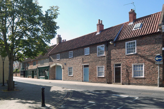 Period Houses on Fleetgate