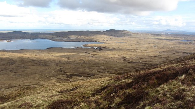The Uists seen from Maoil Daimh