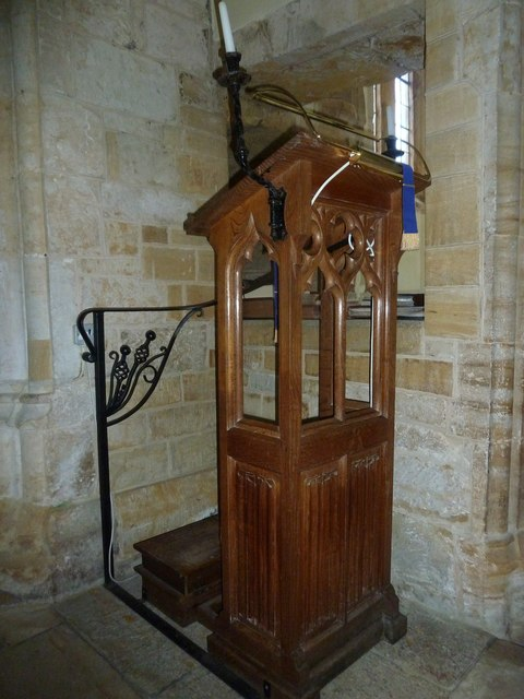Inside St Mary Magdalene, Loders (a)