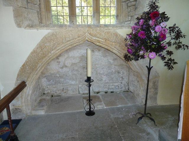 Inside St Mary Magdalene, Loders (c)
