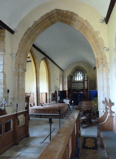 Inside St Mary Magdalene, Loders (d)
