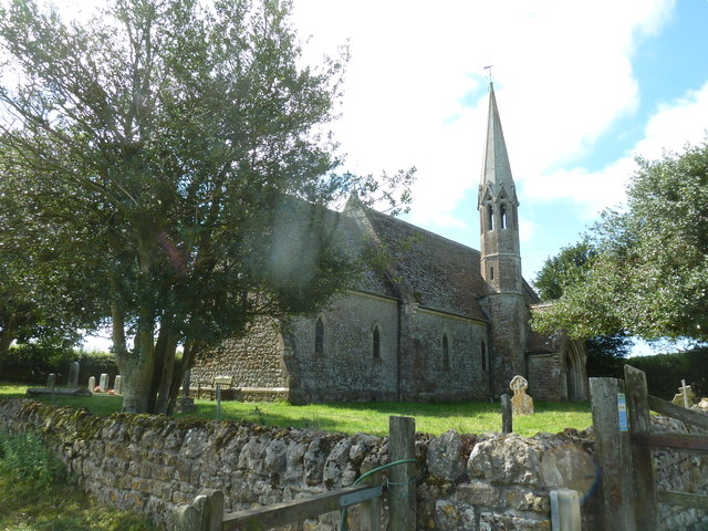 St. Mary Magdalene, North Poorton: from the north-east