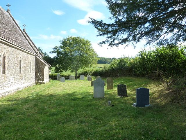 St. Mary Magdalene, North Poorton: churchyard (b)