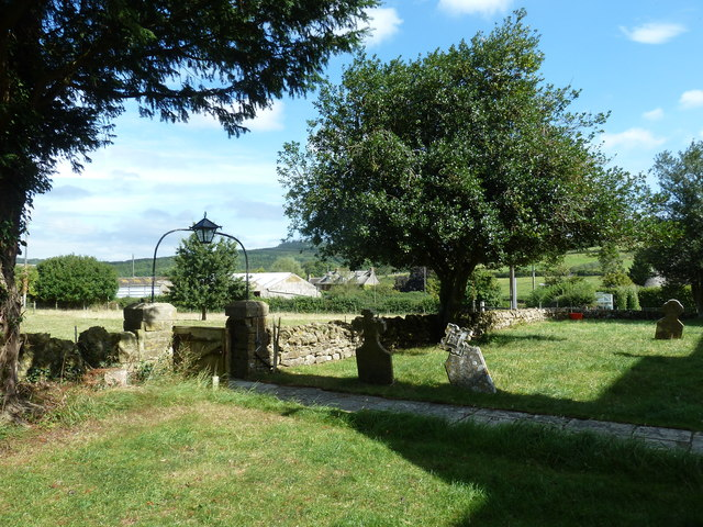 St. Mary Magdalene, North Poorton: churchyard (c)