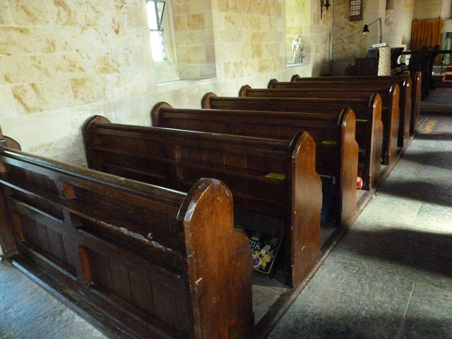 Inside St. Mary Magdalene, North Poorton (II)