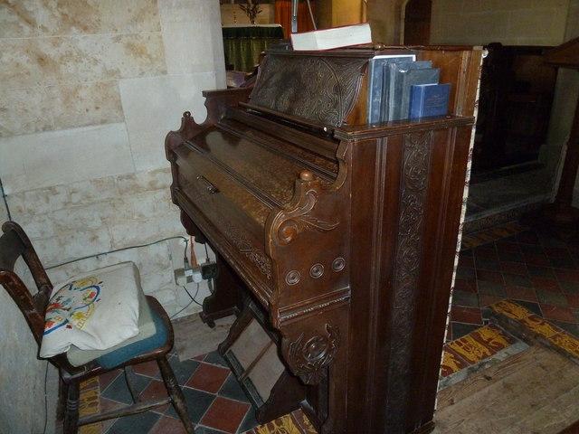St. Mary Magdalene, North Poorton: organ