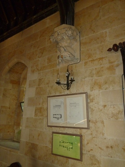 Inside St. Mary Magdalene, North Poorton (VI)