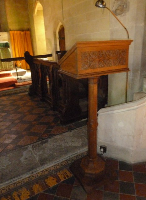 St. Mary Magdalene, North Poorton: lectern