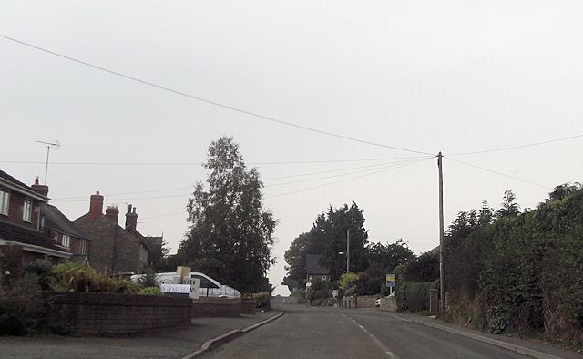 B4386 through Marton
