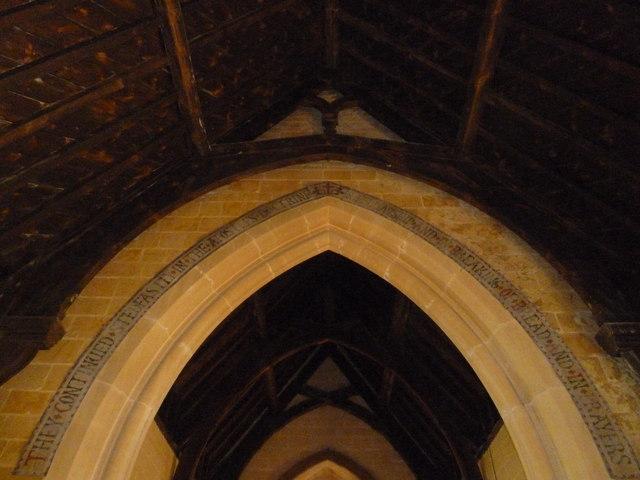 Inside St. Mary Magdalene, North Poorton (VIII)