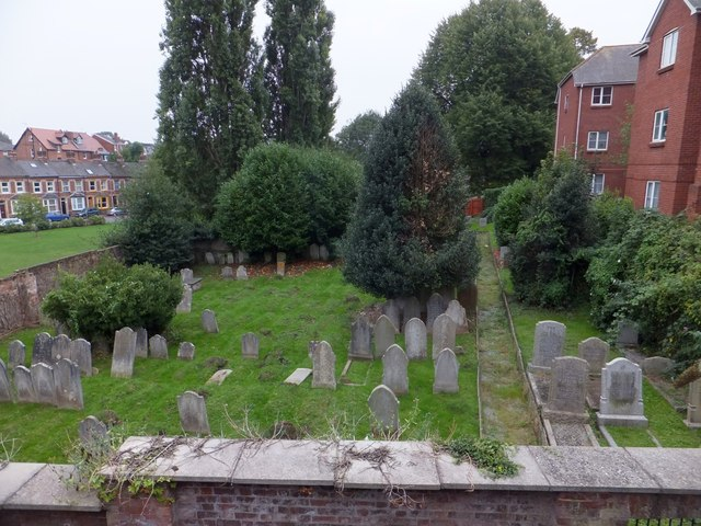 Jewish cemetery by Magdalen Street, Exeter