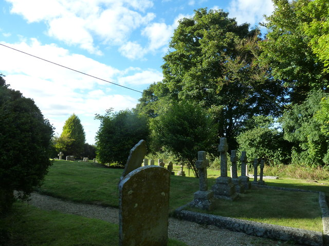 St Michael, Askerswell: churchyard (a)