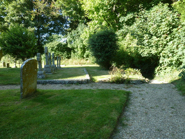 St Michael, Askerswell: churchyard (c)