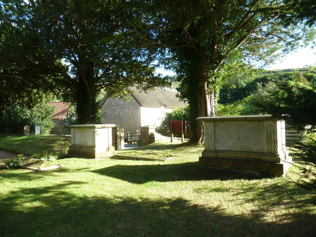 St Michael, Askerswell: churchyard (e)