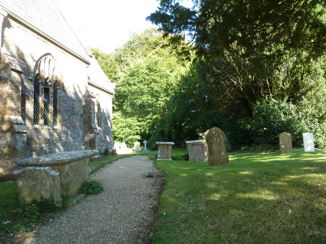 St Michael, Askerswell: churchyard (g)