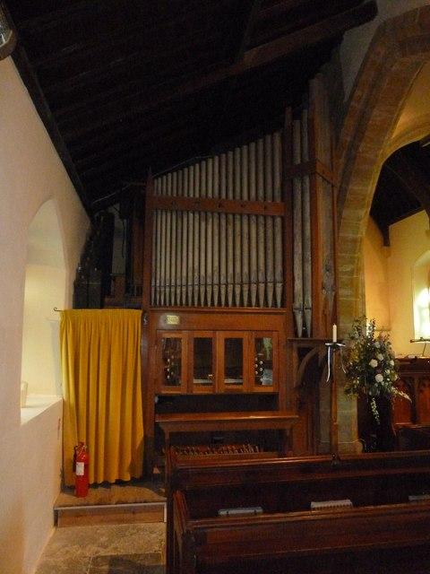 St Michael, Askerswell: organ