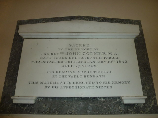 St Michael, Askerswell: memorial (1)