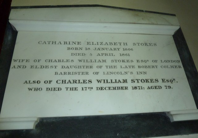 St Michael, Askerswell: memorial (4)