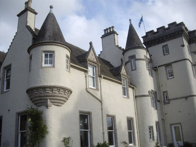 A Scots Baronial house