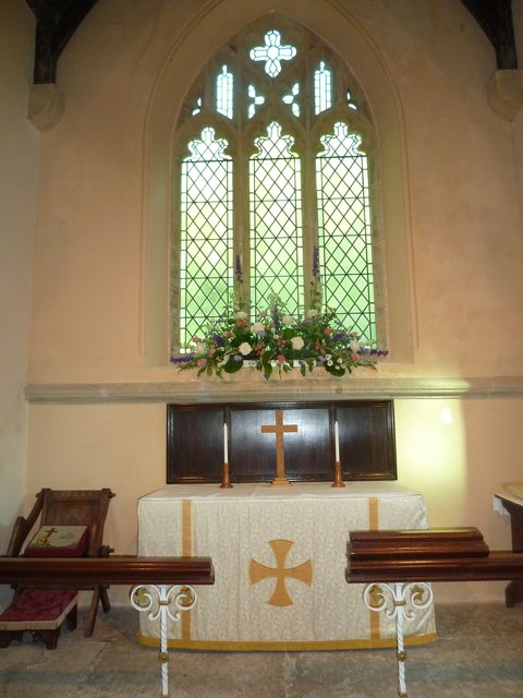 Inside St Michael, Askerswell (C)