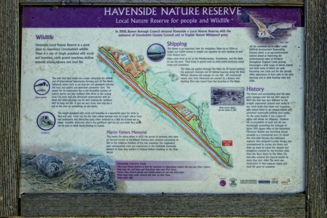 Havenside Nature Reserve near Fishtoft