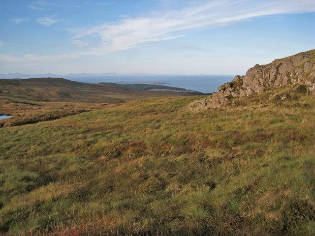 North from Dùn an Iarla