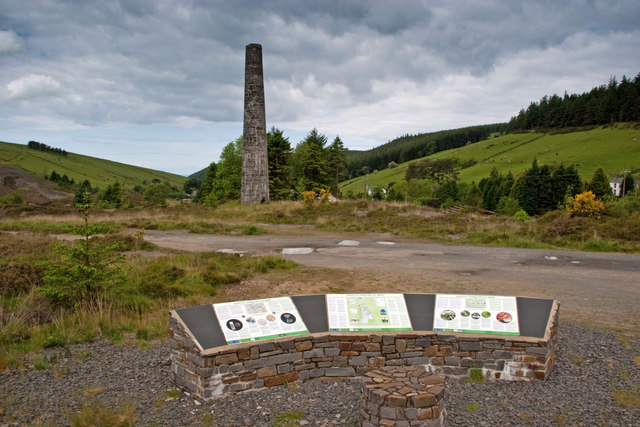 All about the chimney, Cwmsymlog
