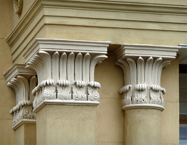 Detail of 84 Plymouth Grove, Manchester