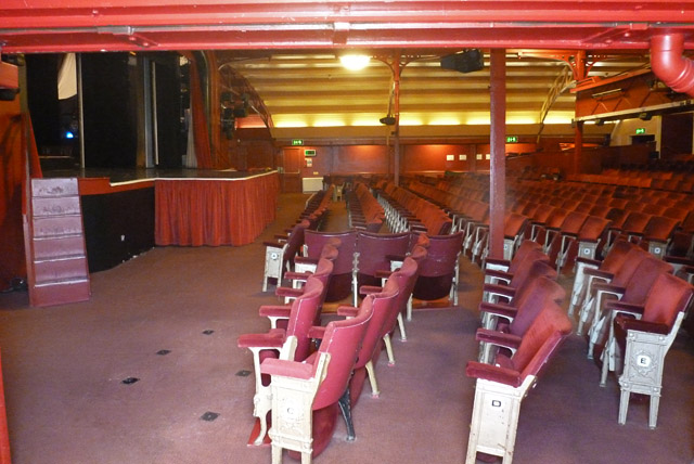 A peep into the Pavilion Theatre, Cromer