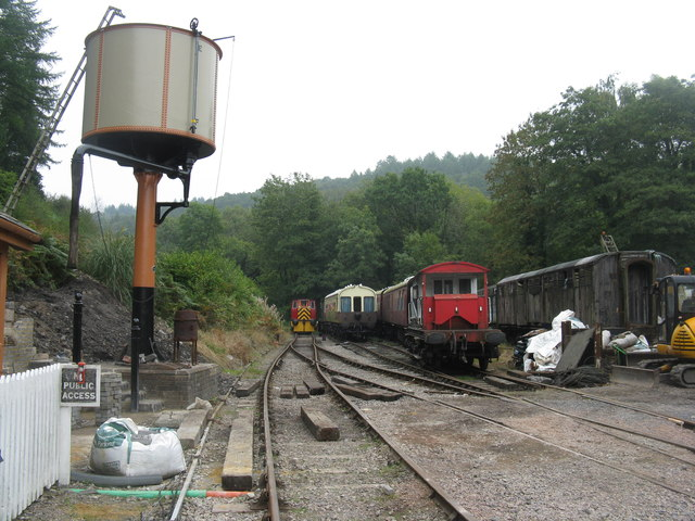 Railway sidings at Norchard