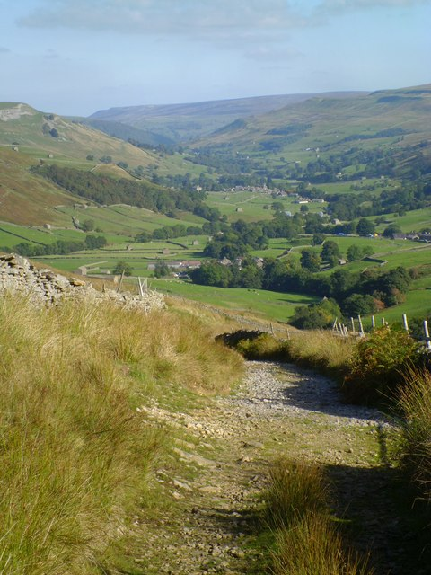 Descent into Swaledale