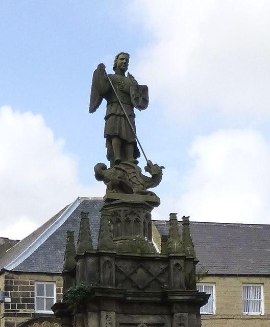 St Michael's Pant - detail