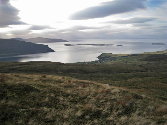 West from Beinn a' Sgùmain