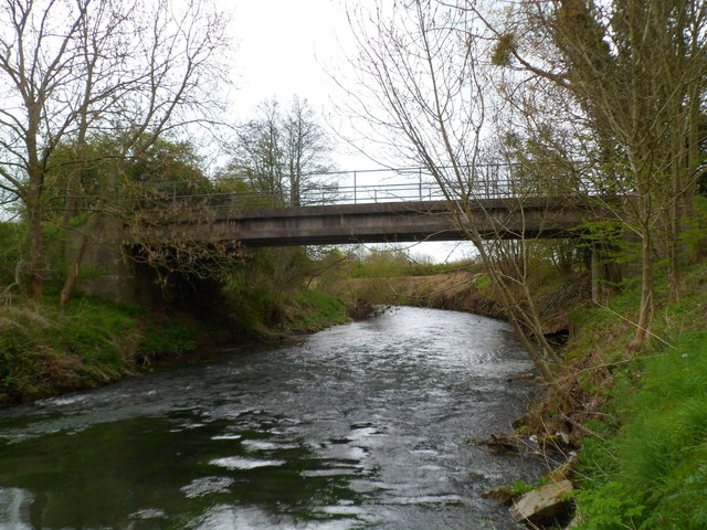 River Lugg footbridge, Leominster