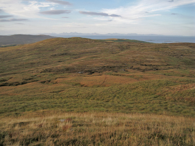 North from Beinn a' Sgùmain